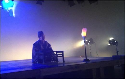 NHK教育テレビ(Eテレ)『100分で名著』4回出演し世阿弥に扮して『風姿花伝』の一節を揮毫